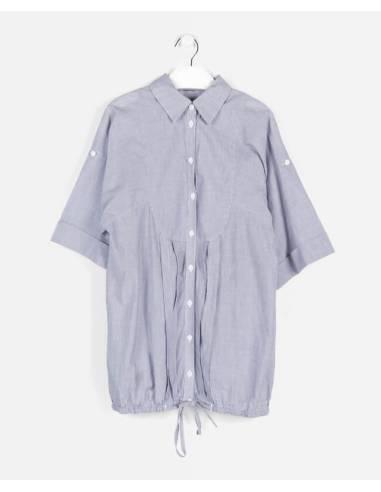Vestido camisero BLANCO verano talla 34