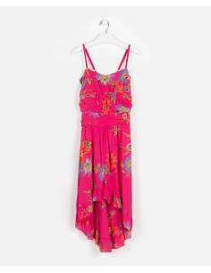 Vestido GIULIA STYLE rosa...